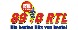 89.0 RTL mit neuen Jingles on air