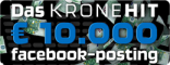 KRONEHIT € 10.000 Facebook-Posting generierte 1 Million Kommentare