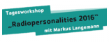 Radio-Personalities: Workshop mit Markus Langemann