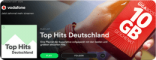 Spotify: Erste Sponsored Playlist-Kampagne von Vodafone