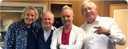 Pop-Superstar meets Radio-Ikonen in hr1: Reinke, Egner, Gottschalk und Sting