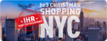 Kein Flug zum hr3-Christmas-Shopping nach New York