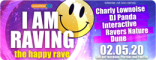 I AM RAVING am 2. Mai: sunshine live goes virtual