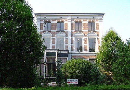 Die Jingle Villa in 'Media City' Hilversum