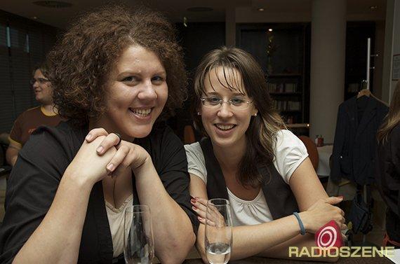 9: Für egoFm auf Junge Talente-Suche: Claudia Dechant und Stefanie Dietsch