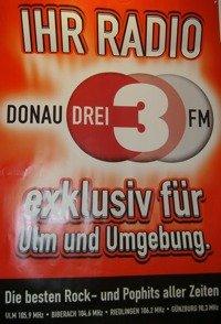 Plakat von Donau3FM