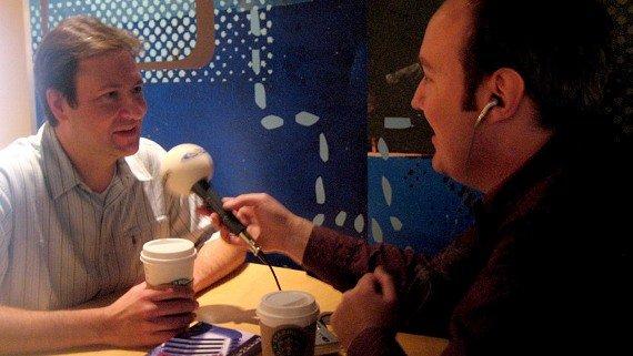Rick Kaempfer im Interview mit Martin Schmitt in Chicago