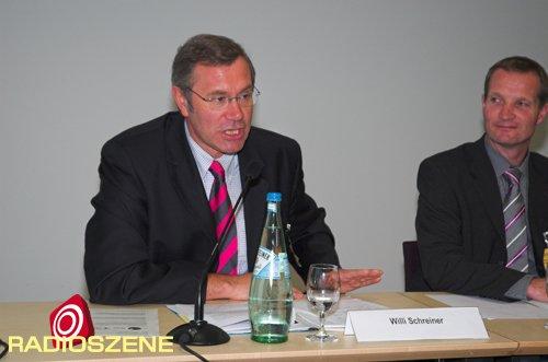 Willi Schreiner - Vorsitzender des Verbandes Bayerischer Lokalrundfunk