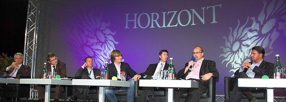 Karlheinz Hörhammer, Florian Novak, Georg Spatt, Andy Gall, Christian Stögmüller, Ernst Swoboda, Gerald Grünberger   (Bild: ©RADIOSZENE/Ulrich Köring)