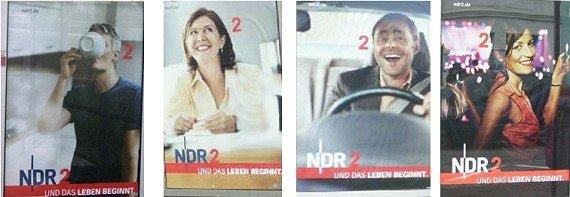 NDR2-Plakatmotive 2007