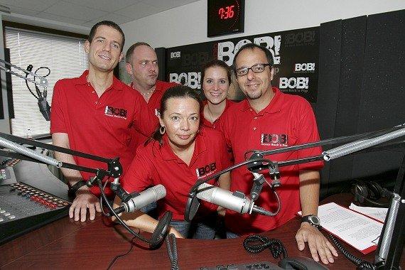 Das Team von RADIO BOB!