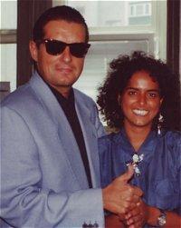 Falco zu Besuch bei 104.6RTL (1992)