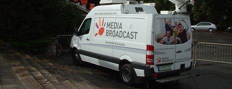 Media Broadcast erbringt die Leistung des Signaltransportes vom jeweiligen Sendestudio an die jeweiligen Funktürme. (Foto: Bernd Reiher)
