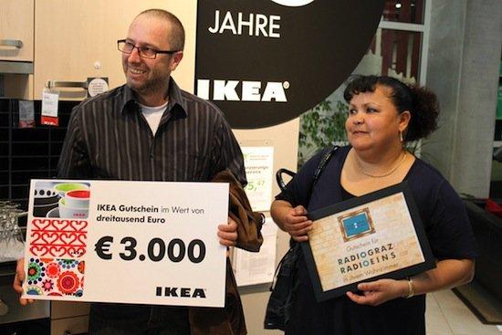 Eva und Edmund Trausenegger gewinnen Radio Graz und Radio Eins
