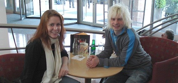 Andrea Husak und Jan-Christian Zeller im RADIOSZENE-Gespräch