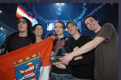 """Die Gewinner des Bundesvision Song Contest 2005: """"Juli"""""""