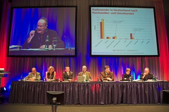 Ernst Swoboda (KRONEHIT), Valerie Weber (Antenne Bayern), Georg Spatt (Ö3),  Rik DeLisle (Alan Burns&Associates), Peter Bartsch (Antenne Steiermark),  Brigitte Wolf (Radio Wien), Michael Graf (RMS)