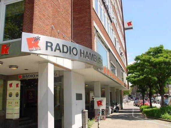 Eingangsbereich von Radio Hamburg