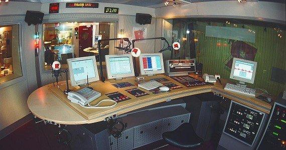 Sendestudio von Radio Hamburg