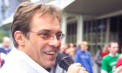 Programmchef Thommy Gsell auf der IAA 2005