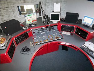 Radio blau-Sendestudio seit 2007 (Bild: Radio blau)