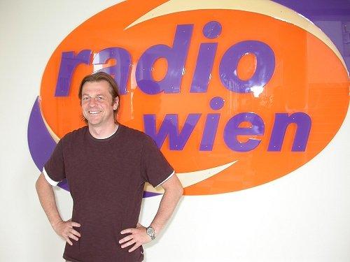 Stephan Halfpap, Radio Wien. Auf Titeltests verzichtet.