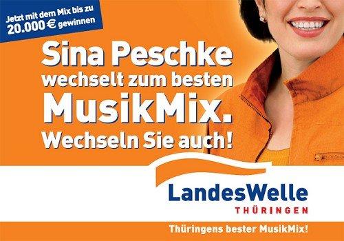 """Plakat von """"Landeswelle Thüringen"""""""