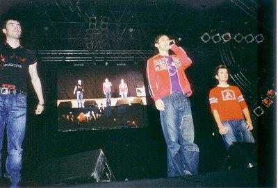 """Boygroup """"O-Zone"""" auf der Stars for Free-Bühne"""