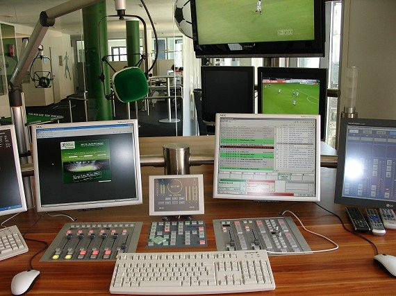 Das Studio von Radio 90elf (Foto: tw/RADIOSZENE)