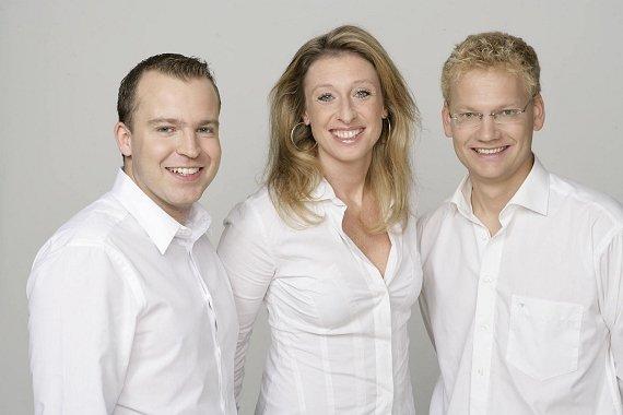 Florian Berger (Programmdirektor), Aline Basel (Managing Director), Bernhard Rathmayr (Stv. Programmdirektor und Programmdirektor Online)