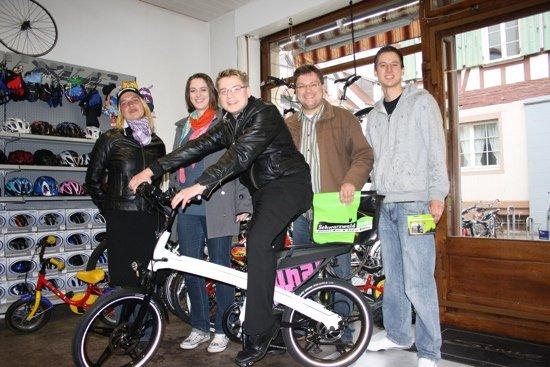 Das Organisationsteam des SCHWARZWALDRADIO-FAMILIENFAHRRADTAGES: Claudia Rudolph, Katharina Oßwald, Fabian Alber, Jörg Schött, Lukas Hund