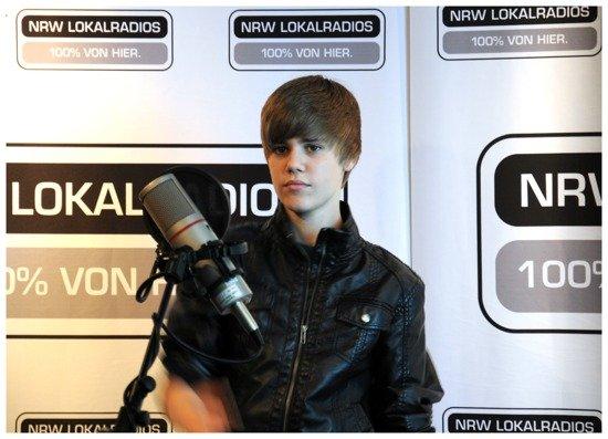 Justin Bieber bei rado NRW