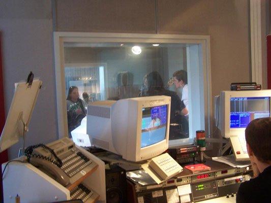 Das Alster Radio-Studio am Rödingsmarkt 29 in Hamburg