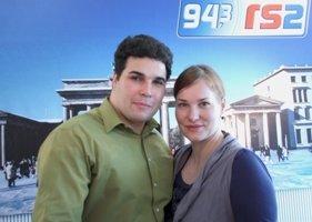 Katrin Schifelbein und Alex Purrucker