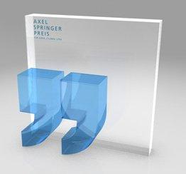 Axel Springer-Preis Pokal Teaser
