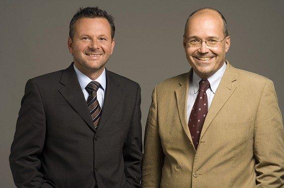 Geschäftsführer Gottfried Bichler und Rudolf Kuzmicki