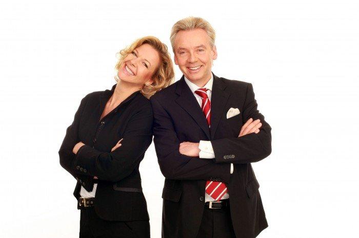 Valerie Weber und Karlheinz Hörhammer