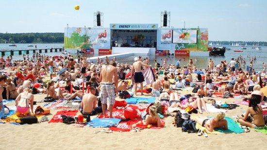 Das Strandbad Wannsee war am 03. Juli zum achten Mal die Eventlocation von ENERGY IN THE PARK