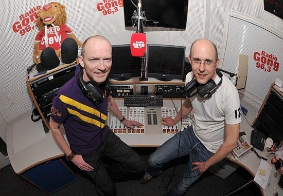 Mike Thiel und Karsten Wellert (Bild: Radio Gong 96,3)