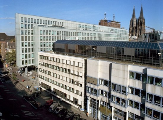 WDR-Gebäude in der Kölner Innenstadt