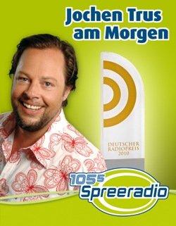 Deutscher Radiopreis: Jochen Trus ist bester Moderator 2010