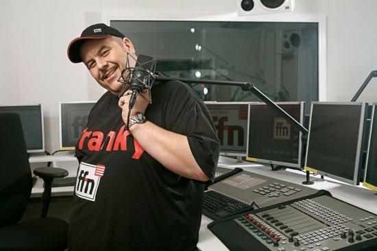 ffn Morgenmän Franky im ffn-Studio (Bild: ©radio ffn)