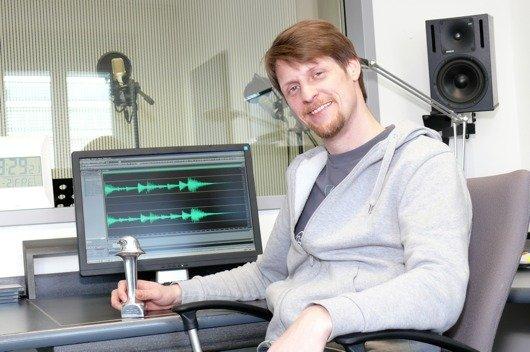 radio SAW-Producer Stefan Köhler mit dem silbernen Ramses