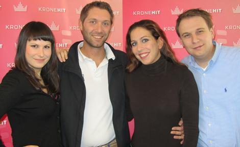 Dani Linzer, das Brautpaar Rene & Melanie, Meinrad Knapp