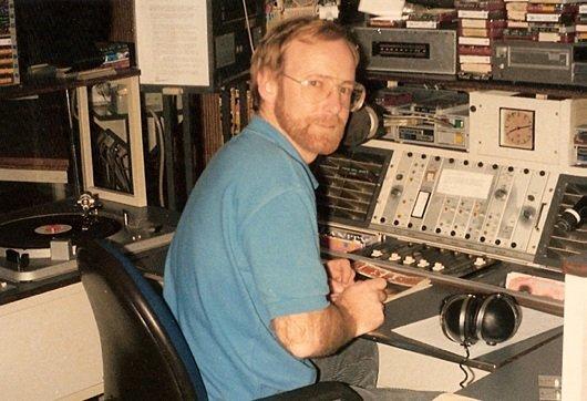 Ferry Maat bei Radio Noordzee in den 70ern