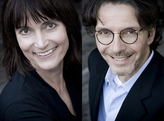 Bringen die hr1-Hörer zwischen 12 und 14 Uhr auf den aktuellen Stand: Doris Renck und Klaus Reichert (Bild: hr/Nicole Kohlhepp)