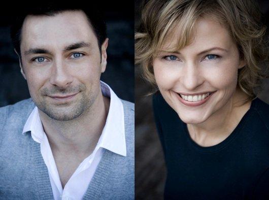 Marco Schreyl und Marion Kuchenny moderieren finden ab 14 Uhr in hr1-Meridian den richtigen Ton (Bild: hr/Nicole Kohlhepp)