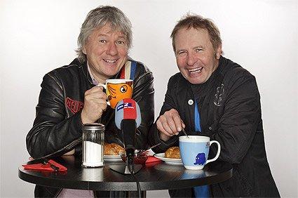 """Jürgen Becker (l) und Didi Jünemann in der """"Frühstückspause"""" © WDR/Kianmehr"""