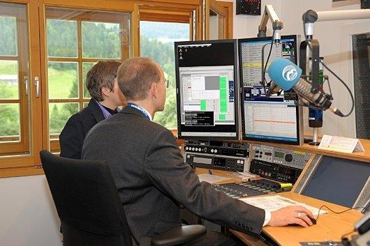 Studio von Radio Horeb (Bild: Radio Horeb)