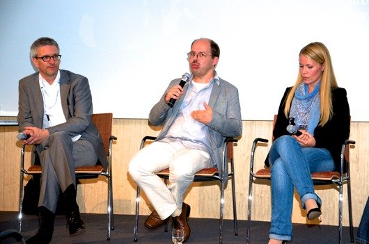 Detlef Kuschka (Antenne Bayern), Andreas Fauth (Hörfunkschule Frankfurt), , Sandra Sprünken (Radio Wuppertal)